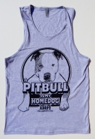 A Pitbull Is My Homedog Tank Top