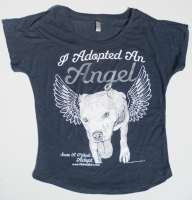 Adopted Angel Slouch Neck Shirt