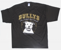 Bully Girls Best Friend Brown Shirt