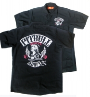 Distressed Official Biker Mechanic Shirt