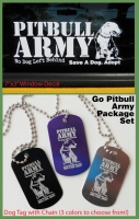 Go Pitbull Army Package Set
