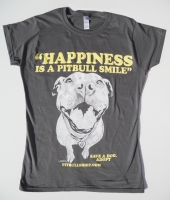 Happiness Is A Pitbull Smile Baby Doll