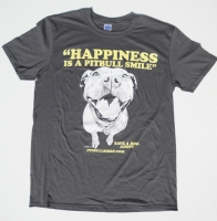 Happiness Is A Pitbull Smile Shirt