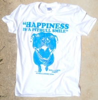 Happiness White T-Shirt