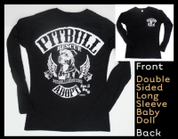 Official Biker Long Sleeve Baby Doll