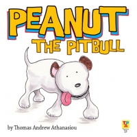Peanut The Pitbull Children's Book