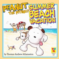 Peanut The Pitbull's Summer Beach Vacation
