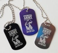 Pitbull Army Dog Tag