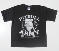 Pitbull Army Kids Shirt