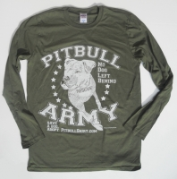 Pitbull Army Long Sleeve Shirt
