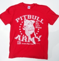 Pitbull Army Red Shirt