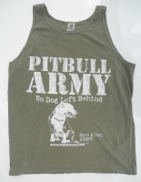 Pitbull Army Rescue Tank Top
