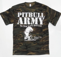 Pitbull Army Rescue Camo Shirt