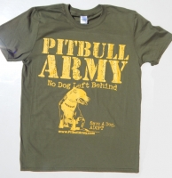 Pitbull Army Rescue Military Shirt