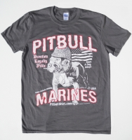 Vintage Pitbull Marines USA Shirt