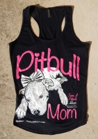 Pitbull Mom Racerback Tank