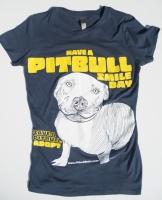 Pitbull Smile Day Baby Doll