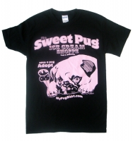 Pug Ice Cream Shoppe Shirt
