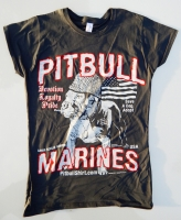 Vintage Pitbull Marines USA Baby Doll